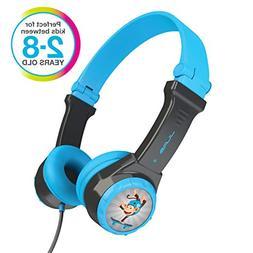 JLAB JBuddies Folding Kids Wired Headphones | Toddler Headph