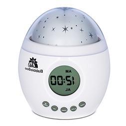 Babbleboo Baby Night Light Lamp & Children Bedroom Alarm Clo