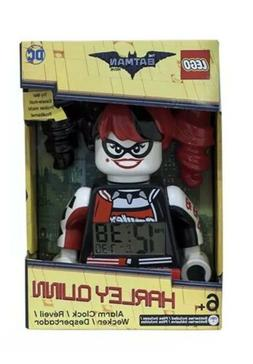 Lego Batman Movie Harley Quinn Kids Minifigure Alarm Clock R