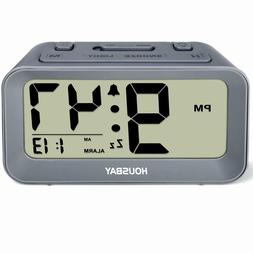 Battery Alarm Clocks For Bedrooms - Large Numbers Simple Set