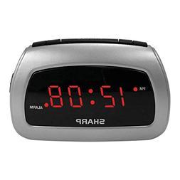 Sharp Battery Backup Electric-Powered Digital Alarm Clock, 2