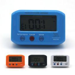 Battery Digital Alarm Clock with LCD Display Luminous Date S