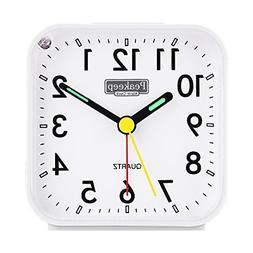 battery operated analog alarm clock