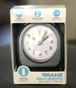 Sharp Battery Operated Ascending Alarm Clock Back Light On D