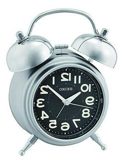 Seiko Bedside Alarm Clock with Bell alarm QHK051A-NEW