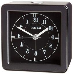 Seiko Bedside or Travel Alarm Clock QHE082JLH BRAND NEW Quie