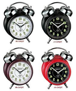 Casio Bell Alarm Clock Micro Light Snooze TQ362 4 colors Glo