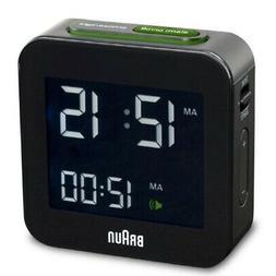 - Braun Mens Digital Square Alarm Clock. Shipping is Free