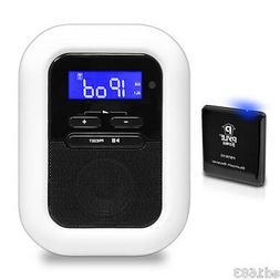 Bluetooth Alarm Clock FM Radio & Receiver System w/ 30 Pin i