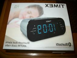 Timex  Bluetooth Dual Alarm AM/FM Clock Radio New