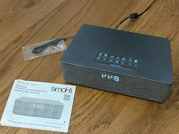 iHome Bluetooth Dual Alarm Stereo Clock Radio w/ Dual USB Ch
