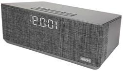 bluetooth dual alarm stereo clock
