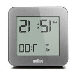 Braun BNC009GY Digital Quartz Alarm Clock