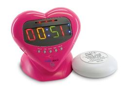 Sonic Boom Vibrating Alarm Clock with Powerful 12-Volt Bed S
