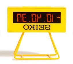 bPr BEAMS SEIKO / SPORTS TIMER CLOCK MINI Electronic Alarm