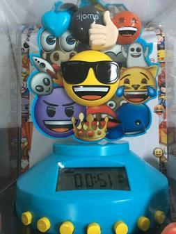 Emoji Brand Bluetooth Alarm Clock Radio with Digital Display