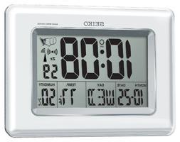 *BRAND NEW* Seiko Everything Digital R WAVE Clock QHR020WLH