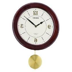 *BRAND NEW* Seiko Musical White Dial Pendulum Clock QXM345BL