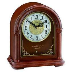 *BRAND NEW* Seiko Wood Musical Mantel Clock QXW244BLH