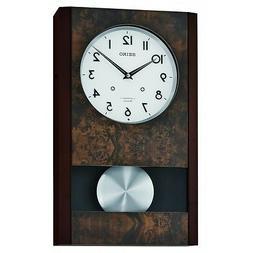 *BRAND NEW* Seiko Wood Musical Pendulum Wall Clock QXM359BLH