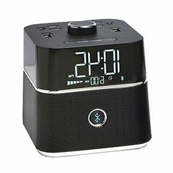 Brandstand BPEBL CubieBlue Charging Alarm Clock with Bluetoo