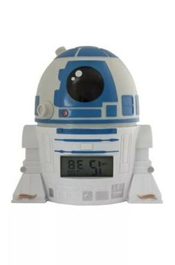 BulbBotz Star Wars 2021401 R2D2 Kids Night Light Alarm Clock