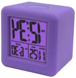Equity by La Crosse 70902 Digital Cube Alarm Clock with On-D