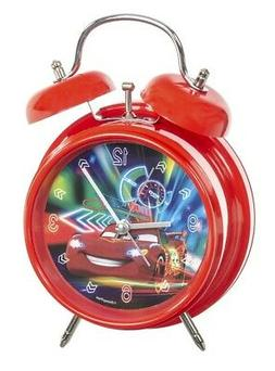 Disney Pixar Cars alarm clock red EL51059 clock analog with
