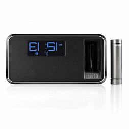 Charging Bluetooth Stereo iHome iKN105BC Dual Alarm Clock Ra