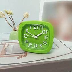 Children's Clock Square Bed Alarm Clock For Study Bedroom Ta