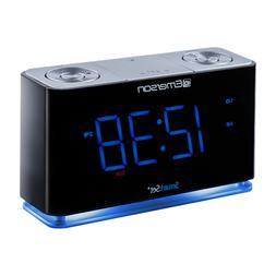 Emerson CKS1507 Smartset Alarm Clock Bt Usb