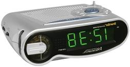 Emerson Radio CKS1701 SmartSet AM/FM Clock Radio with Large