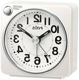 SEIKO CLOCK alarm clock  PYXIS light  NR437w