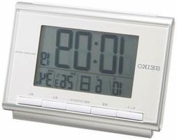 Seiko CLOCK SEIKO Seiko alarm clock digital radio clock SQ69