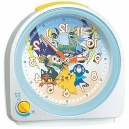 Seiko Clock Alarm Clock Pokemon Pikachu Character Chatter Al
