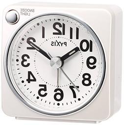Seiko CLOCK alarm clock clock PYXIS light  NR437w