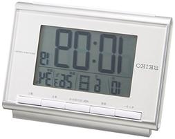 CLOCK SEIKO  alarm clock digital radio clock SQ698S