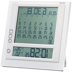 Seiko CLOCK clock hanging clock table clock combined monthly