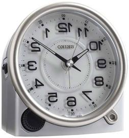Seiko Clock QXE011ALH ULTIMATE Bedside Alarm Clock BRAND NEW