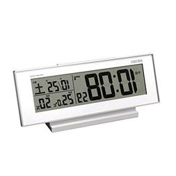 Seiko CLOCK clock 'visible Night' radio digital alarm clock