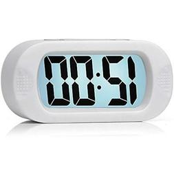 Clock Radios Easy To Set, Plumeet Large Digital LCD Travel A