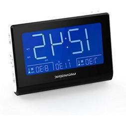 Clock Radios Magnasonic Alarm Battery Backup, Dual Gradual W