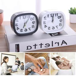 Clock Small Bed Compact Travel Quartz Beep Alarm Clock Cute