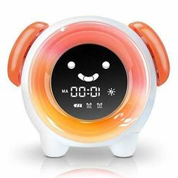 OYRGCIK Kids Alarm Clock Children's Sleep Trainer Night Ligh