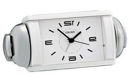 Seiko Clocks Bedside Alarm clock #QHK027WLH