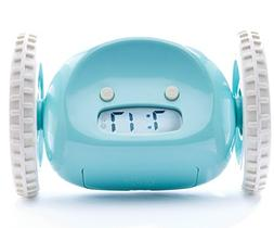 Clocky mobile alarm clock - Aqua