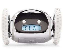 The Original Clocky Alarm Clock on Wheels: Loud R2D2 Beeping