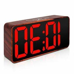 DreamSky Compact Digital Alarm Clock with USB Port for