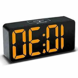 compact digital alarm clock