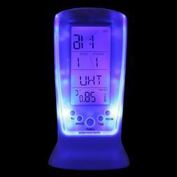 Cool Digital Backlight LED Display Table Alarm Clock Snooze